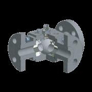 Краны шаровые Pekos V8 штампованные