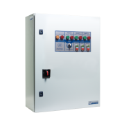 Шкафы управления 3 дренажными насосами, пуск электродвигателей от УПП