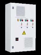 Шкафы управления 3 насосами/вентиляторами с ПЧ на каждый электродвигатель