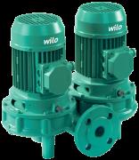 Wilo-VeroTwin-DPL сдвоенный насос с сухим ротором