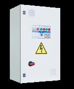 Шкафы управления 2 насосами/вентиляторами с 1 ПЧ (переменный мастер), 1 Раб/1 Рез электродвигатель